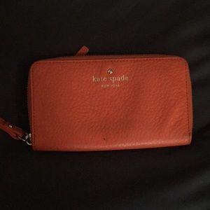 Kate Spade Wristlet Tech Wallet